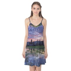 Tamblingan Morning Reflection Tamblingan Lake Bali  Indonesia Camis Nightgown