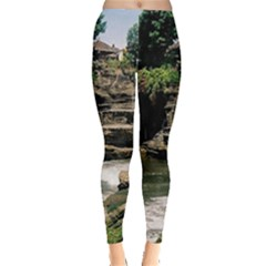 Tanah Lot Bali Indonesia Leggings
