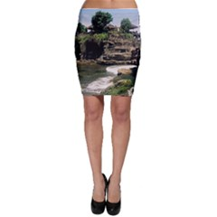 Tanah Lot Bali Indonesia Bodycon Skirt