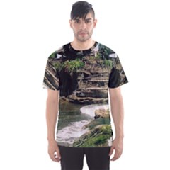 Tanah Lot Bali Indonesia Men s Sports Mesh Tee