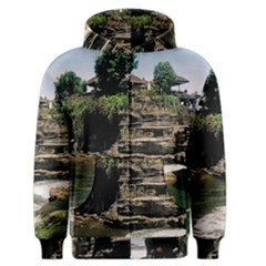 Tanah Lot Bali Indonesia Men s Zipper Hoodie