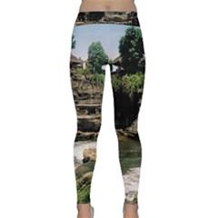 Tanah Lot Bali Indonesia Classic Yoga Leggings