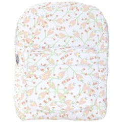 Small Floral Flowers Pattern  Full Print Backpack