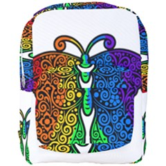 Rainbow Butterfly  Full Print Backpack