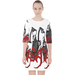 Death   Halloween Pocket Dress