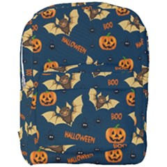 Bat, Pumpkin And Spider Pattern Full Print Backpack