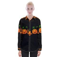 Halloween Womens Long Sleeve Shirt