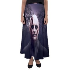 Zombie Flared Maxi Skirt