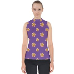 Ditsy Floral Pattern Design Shell Top