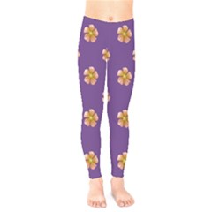 Ditsy Floral Pattern Design Kids  Legging