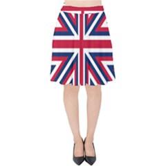 Alternatively Mega British America Velvet High Waist Skirt