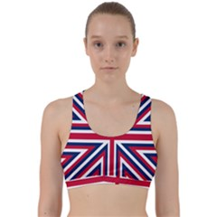 Alternatively Mega British America Back Weave Sports Bra
