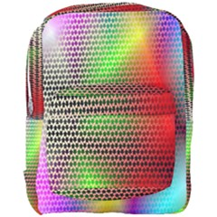 Abstract Rainbow Pattern Colorful Stars Space Full Print Backpack