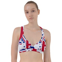 Britain Flag England Nations Sweetheart Sports Bra