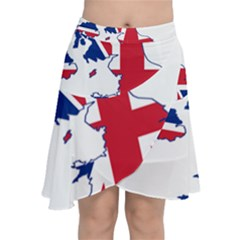 Britain Flag England Nations Chiffon Wrap