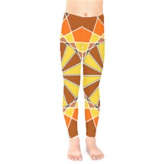 Ornaments Art Line Circle Kids  Legging