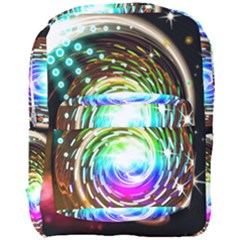 Space Star Planet Light Galaxy Moon Full Print Backpack