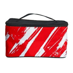 Valentines Day Heart Modern Red Polka Cosmetic Storage Case