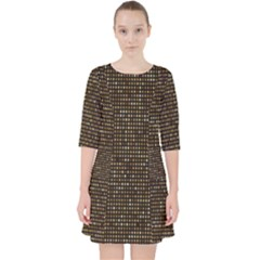 Mosaic Pattern 1 Pocket Dress