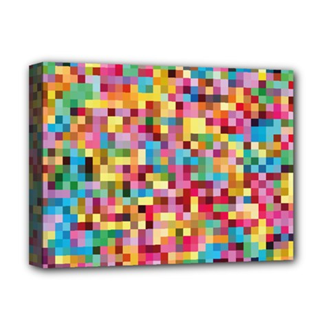 Mosaic Pattern 2 Deluxe Canvas 16  X 12