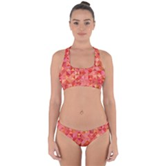 Mosaic Pattern 6 Cross Back Hipster Bikini Set