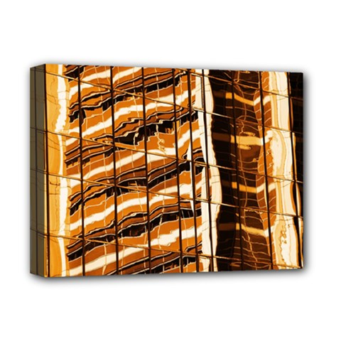Abstract Architecture Background Deluxe Canvas 16  X 12