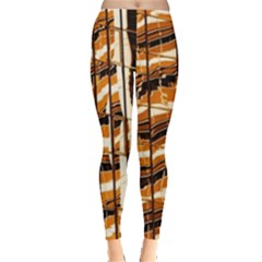 Abstract Architecture Background Leggings