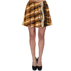 Abstract Architecture Background Skater Skirt