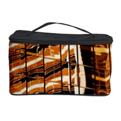 Abstract Architecture Background Cosmetic Storage Case