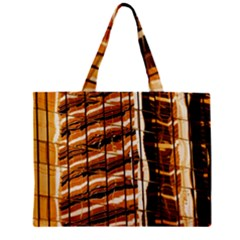 Abstract Architecture Background Zipper Mini Tote Bag
