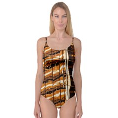 Abstract Architecture Background Camisole Leotard