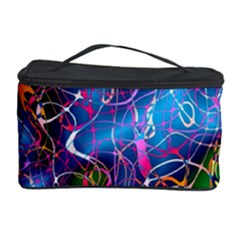 Background Chaos Mess Colorful Cosmetic Storage Case