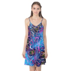 Background Chaos Mess Colorful Camis Nightgown