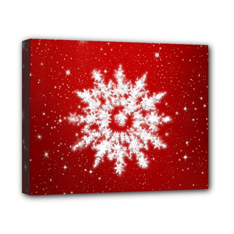 Background Christmas Star Canvas 10  X 8