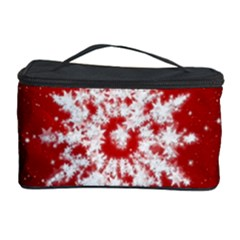 Background Christmas Star Cosmetic Storage Case