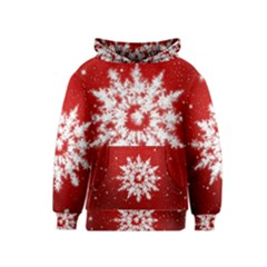 Background Christmas Star Kids  Pullover Hoodie