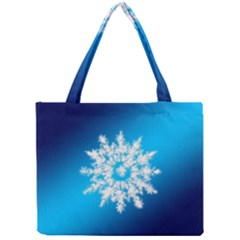 Background Christmas Star Mini Tote Bag