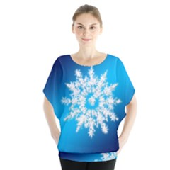 Background Christmas Star Blouse