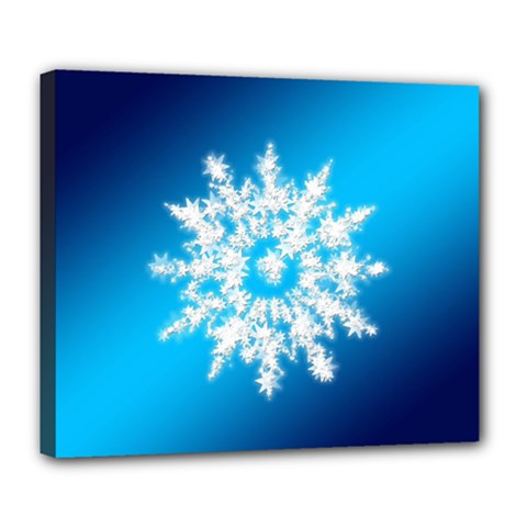 Background Christmas Star Deluxe Canvas 24  X 20