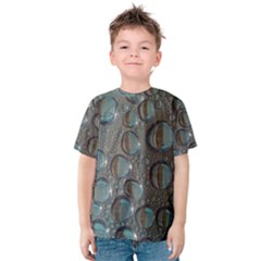 Drop Of Water Condensation Fractal Kids  Cotton Tee