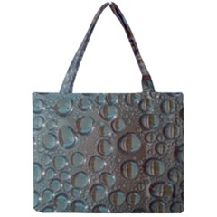 Drop Of Water Condensation Fractal Mini Tote Bag