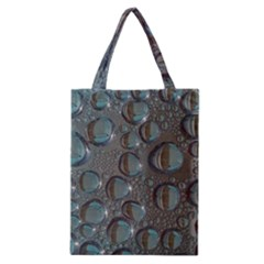 Drop Of Water Condensation Fractal Classic Tote Bag