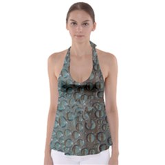 Drop Of Water Condensation Fractal Babydoll Tankini Top