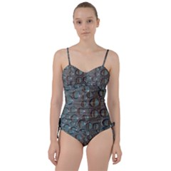 Drop Of Water Condensation Fractal Sweetheart Tankini Set