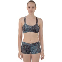Drop Of Water Condensation Fractal Women s Sports Set