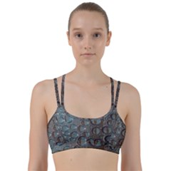 Drop Of Water Condensation Fractal Line Them Up Sports Bra