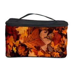 Fall Foliage Autumn Leaves October Cosmetic Storage Case