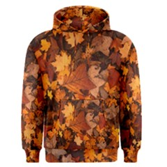 Fall Foliage Autumn Leaves October Men s Pullover Hoodie