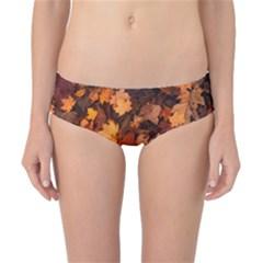 Fall Foliage Autumn Leaves October Classic Bikini Bottoms