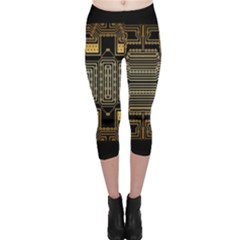 Board Digitization Circuits Capri Leggings
